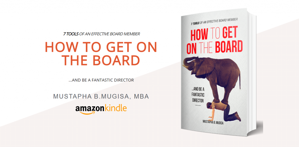 """Why you must get a copy of the """"How to get on the board book""""…"""